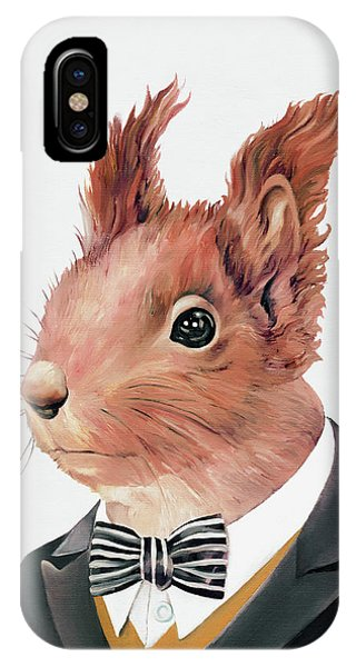 Animal iPhone Case - Red Squirrel by Animal Crew