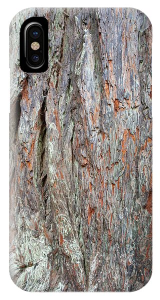 IPhone Case featuring the photograph Redwood Bark by Mark Duehmig