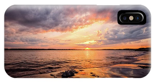 Reflect The Drama, Sunset At Fort Foster Park IPhone Case