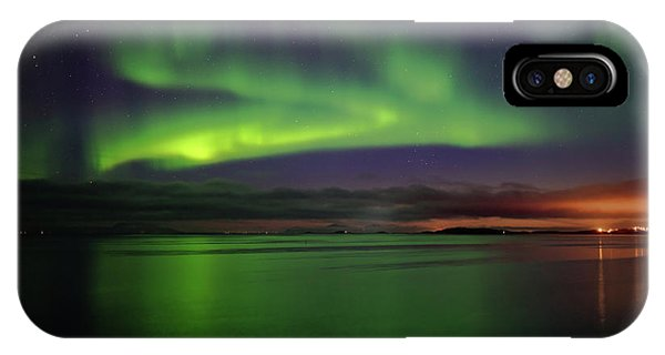 Reflected Aurora IPhone Case