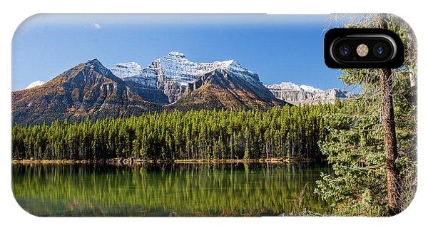 Reflections At Herbert Lake IPhone Case