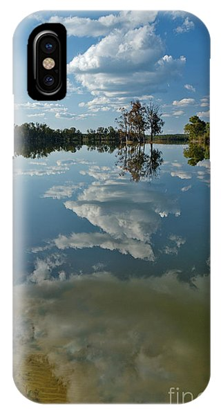 Reflections By The Lake IPhone Case