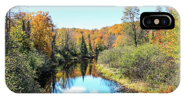 Reflections Of Fall In Wisconsin IPhone Case