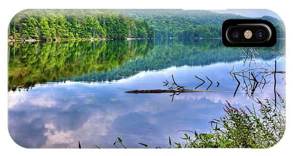 IPhone Case featuring the photograph Reflections On Sis Lake by David Patterson