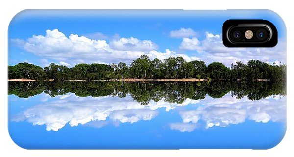 Reflective Lake Patricia IPhone Case