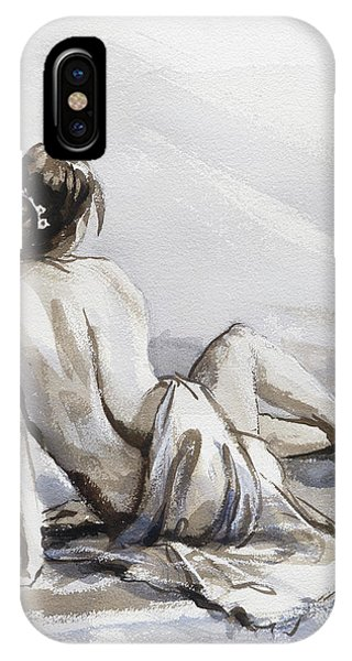 Imagination iPhone Case - Relaxed by Steve Henderson