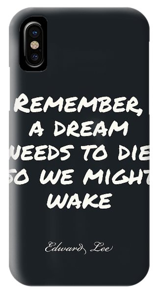 IPhone Case featuring the digital art Remember  by Edward Lee