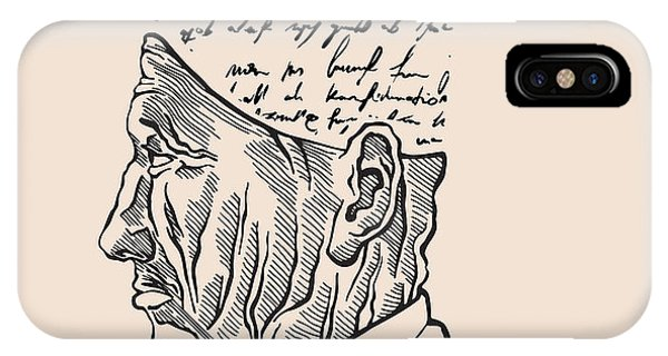 Sketch Pen iPhone Case - Renaissance Thinker. The Man Made Of by Ryger