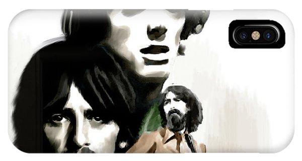 Requiem For George George Harrison IPhone Case