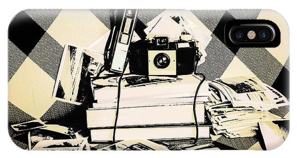 Vintage Camera iPhone Case - Research And Development by Jorgo Photography - Wall Art Gallery