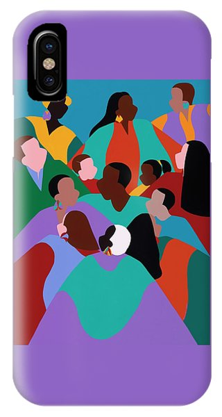 iPhone Case - Resilience by Synthia SAINT JAMES
