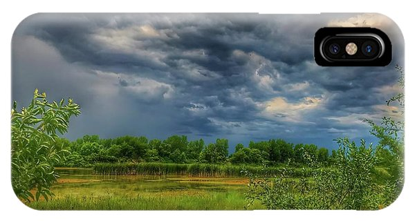 Restless Sky IPhone Case