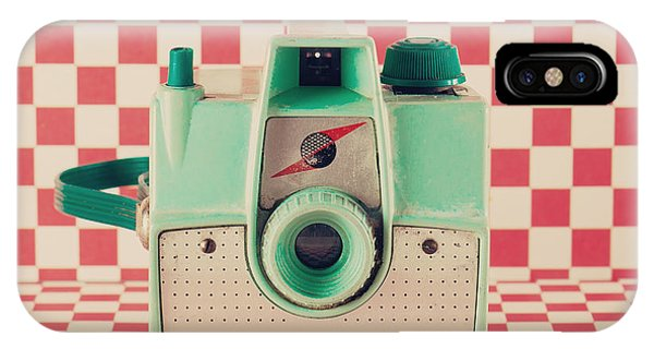 Space iPhone Case - Retro Camera by Andrekart Photography