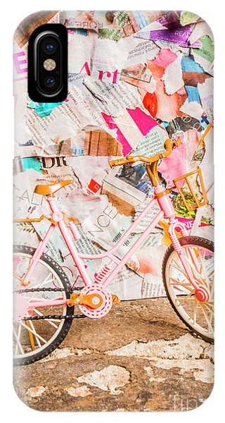 Nobody iPhone Case - Retro City Cycle by Jorgo Photography - Wall Art Gallery