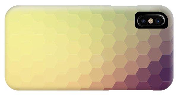 Digital Image iPhone Case - Retro Colorful Background by Melamory