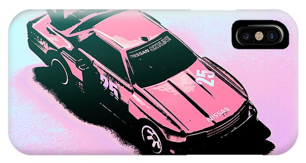 iPhone Case - Retro Race Colours by Jorgo Photography - Wall Art Gallery
