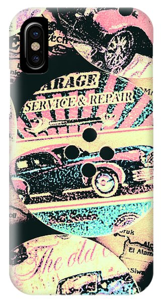 Gas Station iPhone Case - Retro Roadvival by Jorgo Photography - Wall Art Gallery