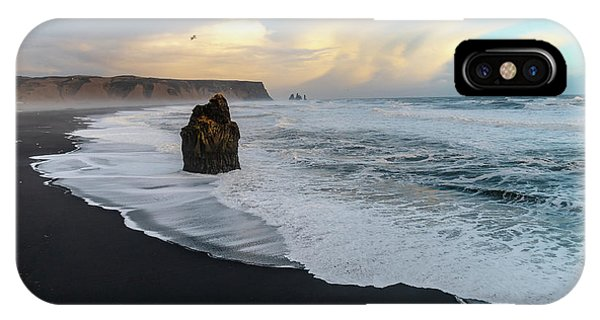Reynisfjara Beach At Sunset IPhone Case