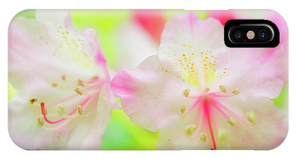 IPhone Case featuring the photograph Rhododendron 5 by Leland D Howard