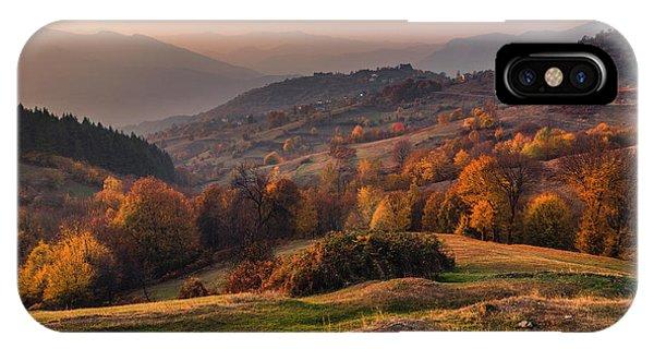 Rhodopean Landscape IPhone Case