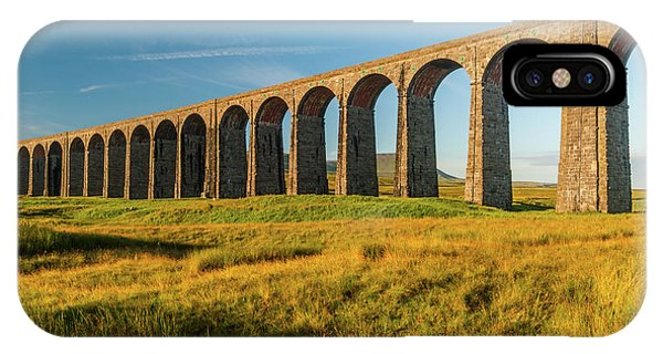 Ribblehead Viaduct Phone Case by David Ross