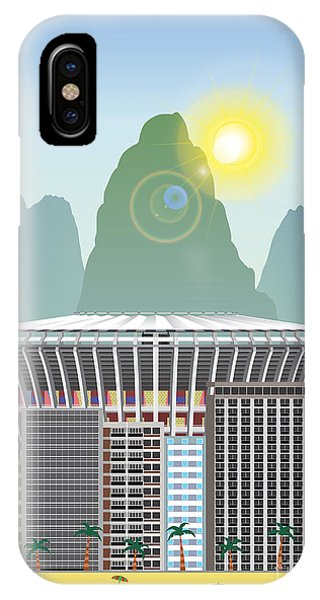 Rio Landmark Phone Case by Nikola Knezevic