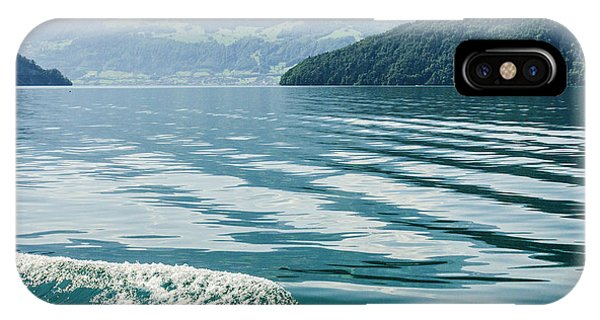Ripples On Lake Lucerne IPhone Case