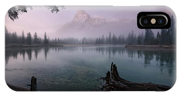Rising From The Fog IPhone Case