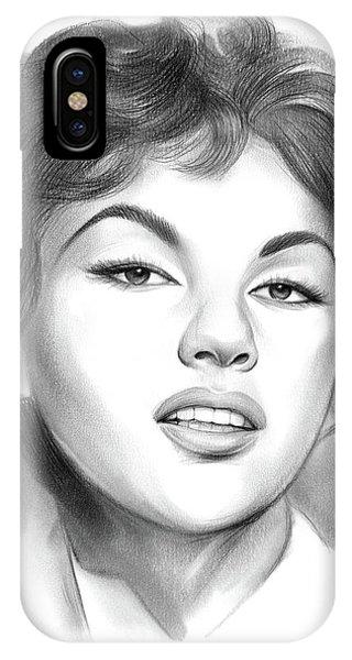Child Actress iPhone Case - Rita Moreno by Greg Joens