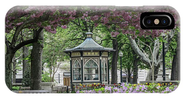 Rittenhouse In Spring Phone Case by Stacey Granger
