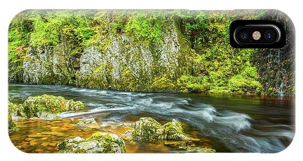 River Garry, Pass Of Killiecrankie Phone Case by David Ross