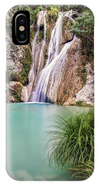IPhone Case featuring the photograph River Neda Waterfalls by Milan Ljubisavljevic
