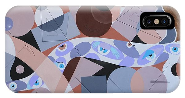 River Of Eyes IPhone Case