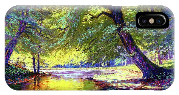 River iPhone Case - River Of Gold by Jane Small