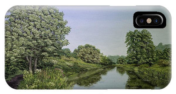 Godalming iPhone X Case - River Wey by Raymond Ore