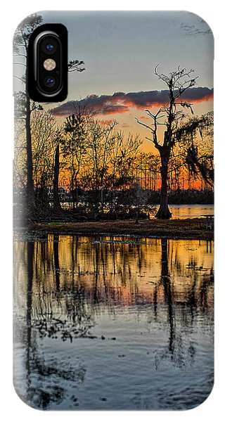 Riverside Sunset IPhone Case