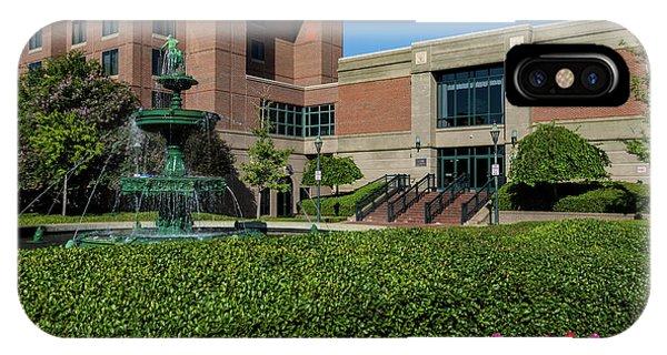 Riverwalk Augusta Ga Fountain IPhone Case