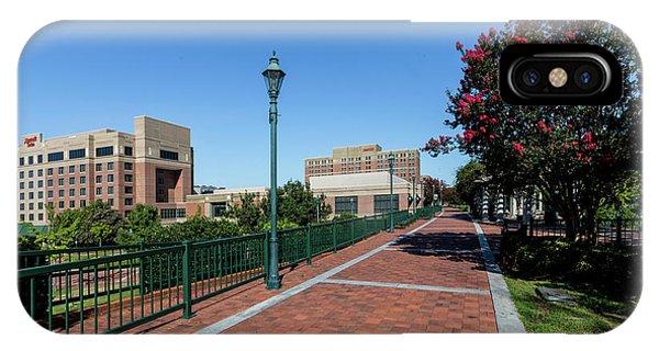 Riverwalk Downtown Augusta Ga IPhone Case