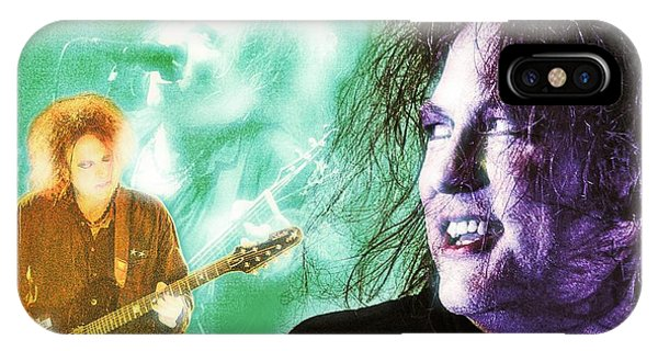 IPhone Case featuring the digital art Robert Smith by Mark Baranowski