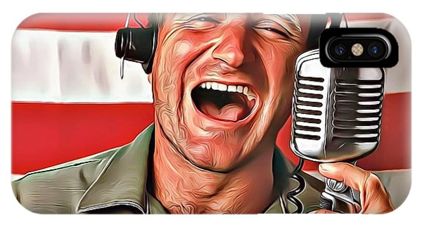 Robin Williams Comedian iPhone Case - Robin Williams by Russ Carts
