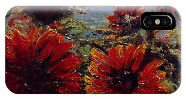 IPhone Case featuring the painting Robin's Banquet by J Reynolds Dail