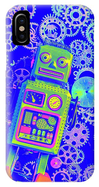 1950s iPhone Case - Robot Reboot by Jorgo Photography - Wall Art Gallery