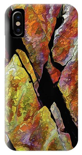 Rock Art 17 IPhone Case