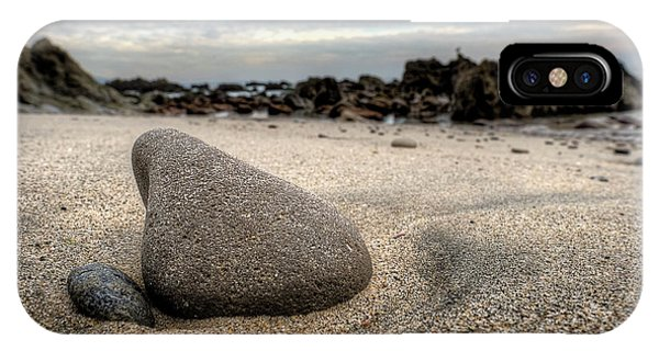 Rock On Beach IPhone Case