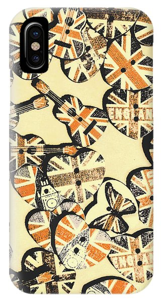 Punk Rock iPhone Case - Rocking Old England by Jorgo Photography - Wall Art Gallery