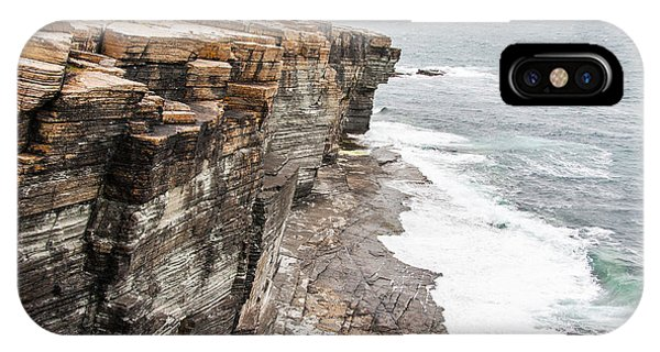 Dusk iPhone Case - Rocks And Cliffs Of Mull Head Nature by Duchy