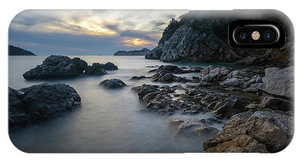 Rocky Coast Near Dubrovnik IPhone Case