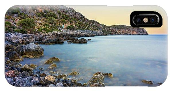IPhone Case featuring the photograph Rocky Coast Near Monemvasia by Milan Ljubisavljevic
