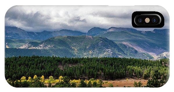 IPhone Case featuring the photograph Rocky Foothills by James L Bartlett