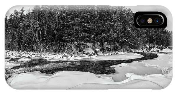 Rocky Gorge N H, River Bend 1 IPhone Case